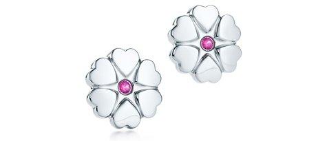 "Tiffany ""Paloma's Crown of Hearts"" Earrings"