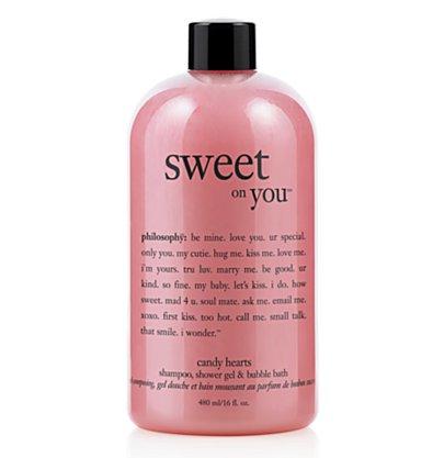 Philosophy Sweet on You Candy Hearts Shampoo, Shower Gel & Bubble Bath