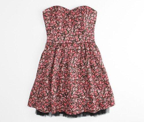 Sandy Holiday Roses Dress