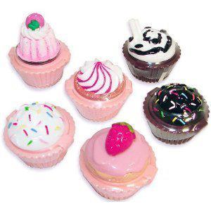 Girls' Cupcake Lip Gloss Set of 12