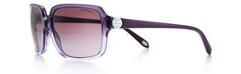 Tiffany Notes Rectangular Sunglasses