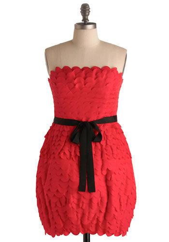 Francesca's Red Hot Dress