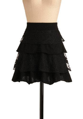 Eyelash Bat Skirt