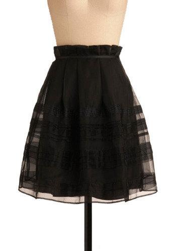 Sweet Treat Skirt in Licorice