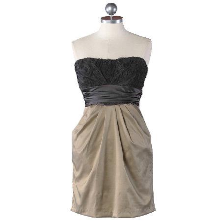 Champagne Toast Pocket Dress