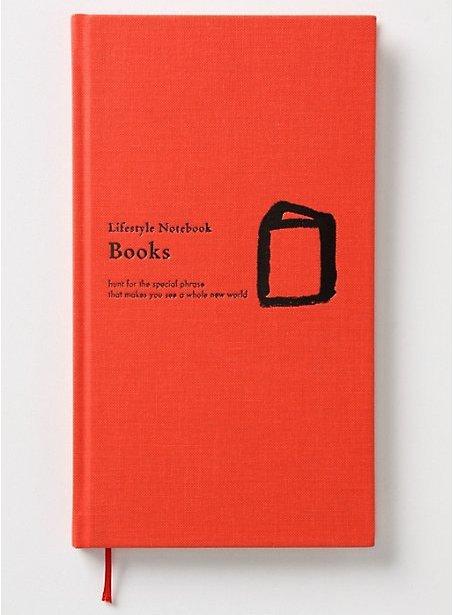 Lifestyle Notebook: Books