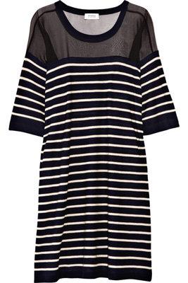 Sonia Rykiel Wool & Silk Chiffon Dress