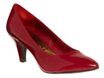 Sure Shine Heel in Crimson