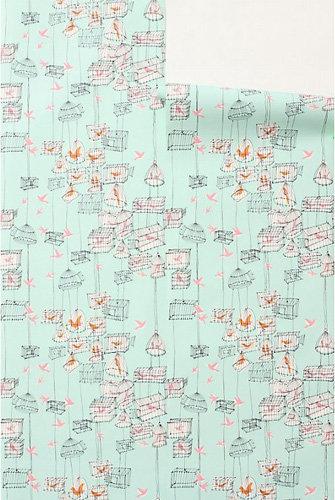 Lofty Larks Wallpaper