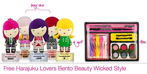 Free Harajuku Lovers Bento Beauty Wicked Style