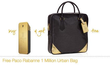 Free Paco Rabanne Urban Bag