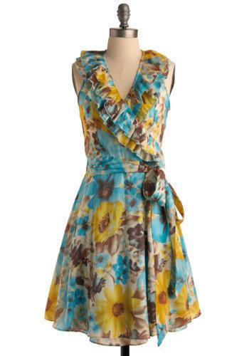 Hawaiian Holiday Dress