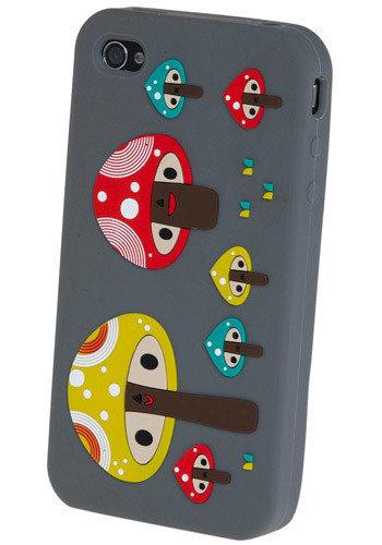 Tweeting Toadstools IPhone 4 Case