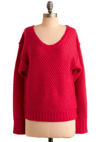 Hey, Hot Stuff Sweater