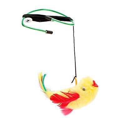 A-Doorable Plush Bird Cat Toy