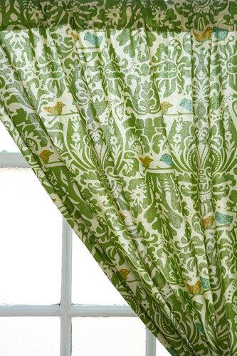 Woodside Block Print Curtain