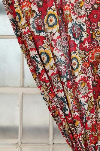 Garden Paisley Curtain