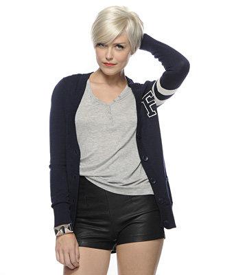 Forever21 Letterman Sweater