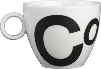 Crate and Barrel Jittery Coffee Mug