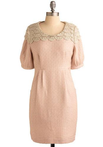 Misty Rose Dress