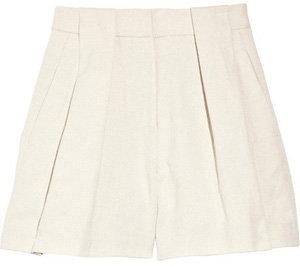 Alexander Wang Linen and Cotton Blend Shorts