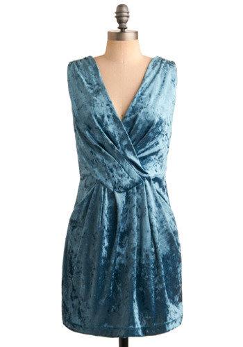 She Wore Blue Velvet Dress
