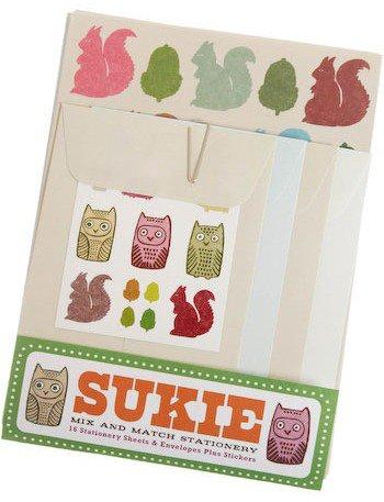 Sukie Critter Correspondence Sationery Set
