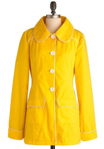 Yellow-so-Cute Coat