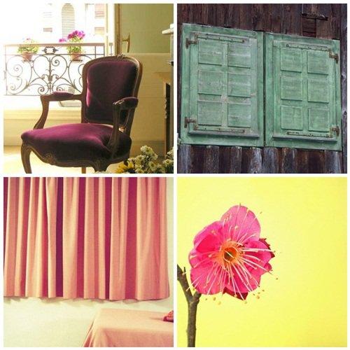 Patina Green + Pink + Plum