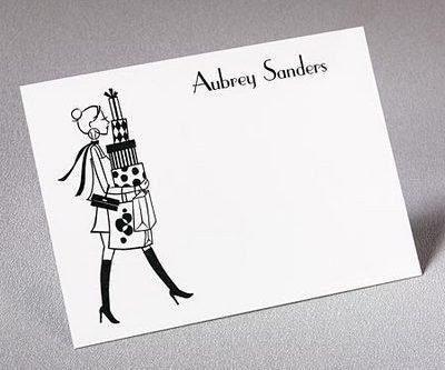 Professional Shopper Notecards