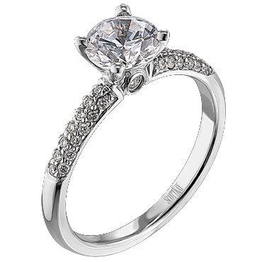 Scott Kay Pave Engagement Ring