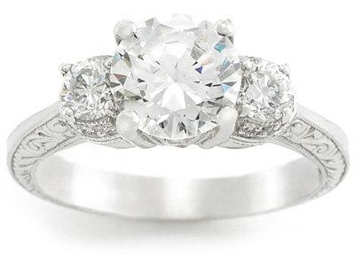 Tacori Diamond Engagement Ring