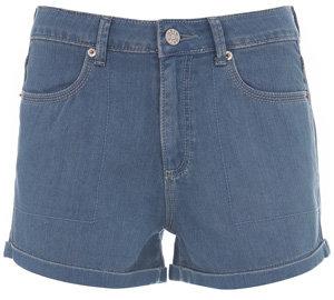 Moto Fairtrade Bleach Was Denim Hotpants