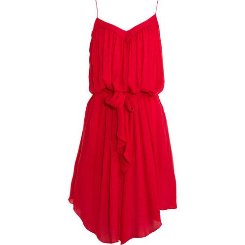 L'Agence Tie Waist Dress