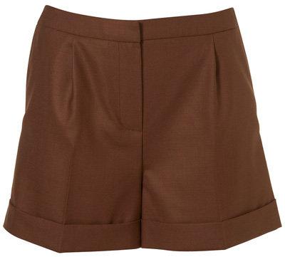 Topshop Premium Rust Shorts