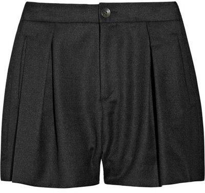 Rag & Bone Hampton High Waisted Wool Shorts