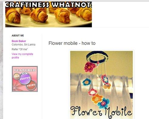 Flower Mobile