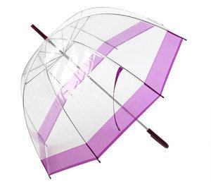 Urban Outfitters Clear Bubble Umbrella - Purple
