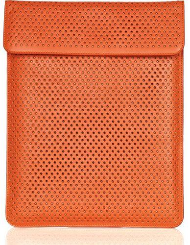 Alaia Perforated Leather IPad Case