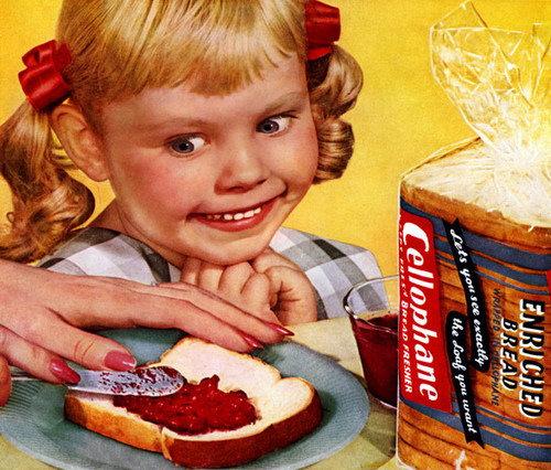 Cellophane Bread