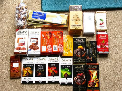 Lindt and Spugli Chocolates