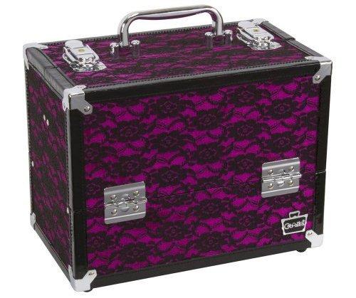 Caboodles Black Lace Carrying Case