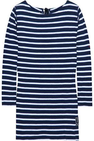 Rebecca Taylor Striped Cotton-Jersey Top