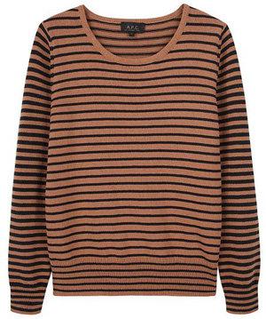 A.P.C Striped Pullover