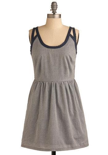 Let It All Pinstripe Dress
