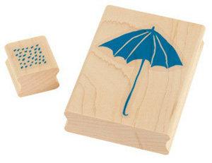 Rain Rain Go Away Stamp Set