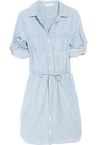 Adam Denim Shirt Dress
