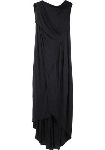 Rick Owens Lilies Curved Hem Dress