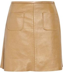 Sandro Leather Mini Skirt
