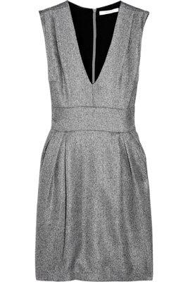 Adam Metallic Tweed Dress